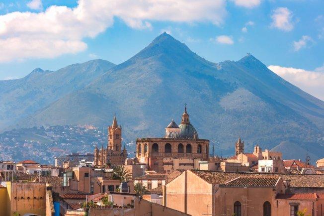 義大利西西里島的第一大城巴勒莫,有世界上最美麗的伊斯蘭城市之美譽。圖/ingimage