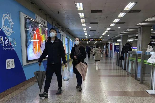 武漢市長周先旺26日表示,目前已有500多萬人離開武漢。(美聯社)