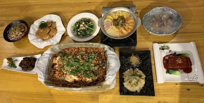 南加華人最思念的過年家鄉味。(記者王子銘/攝影)