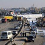 伊朗客機降落衝出跑道 機上135人幸未傳傷亡