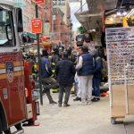 華埠茂比利街再遭火災 便利店起火 無人員傷亡