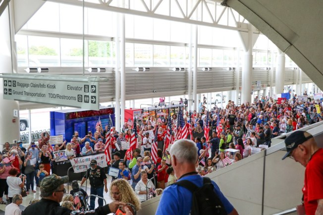 安大略國際機場航站樓。(安大略國際機場臉書)