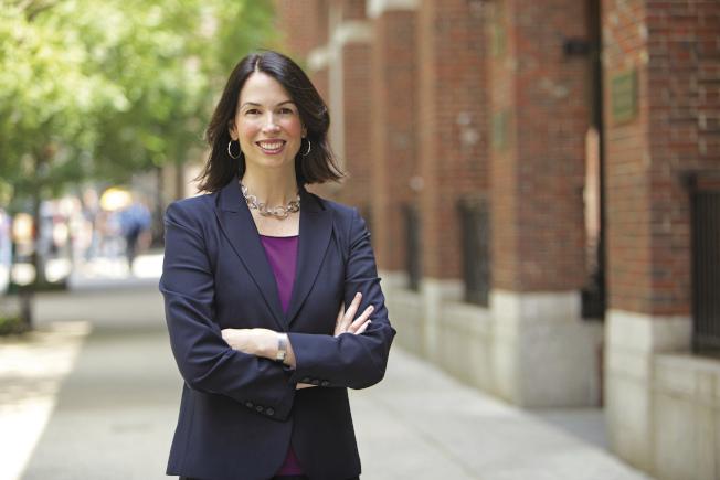 圖為紐約大學法學教授Lily Batchelder。美聯社