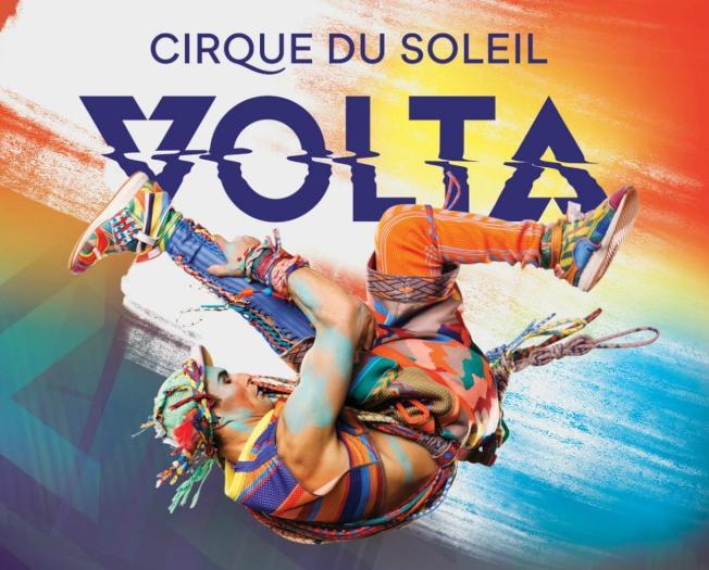 太陽馬戲團名秀「VOLTA」洛杉磯、橙縣登場,演出到4月中旬。(圖片由太陽馬戲團提供)