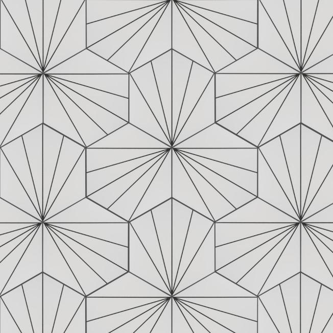對比色搭配可以達到顯眼的效果,例如白瓷磚配黑填縫劑或相反。(HomeDepot官網)