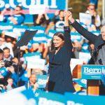 桑德斯 加州民調擴大領先