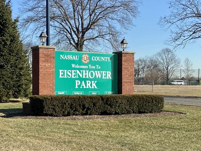 艾森豪公園常年提供各種體育活動和家庭項目。(記者朱蕾/攝影)