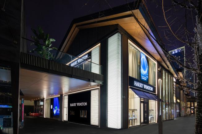 海瑞温斯顿继北京、上海和杭州之后,于中国成都开设第四家专卖店。图/Harry Winston提供