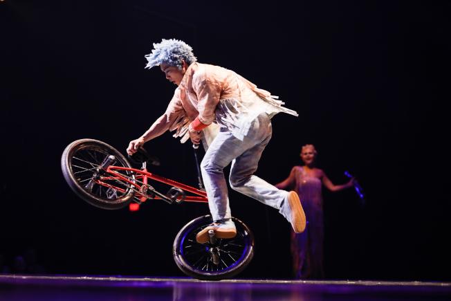 自行車極限運動表演。(官方圖片)
