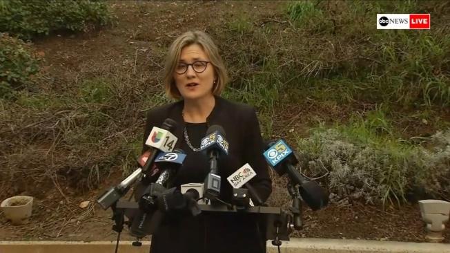 加州聖他克拉拉(Santa Clara County)1例武漢肺炎確診。(擷自ABC)