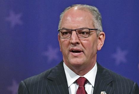 路州州長愛德華茲指台塑新工廠的環評,符合聯邦及該州所設要求,但環保團體反擊。(美聯社)