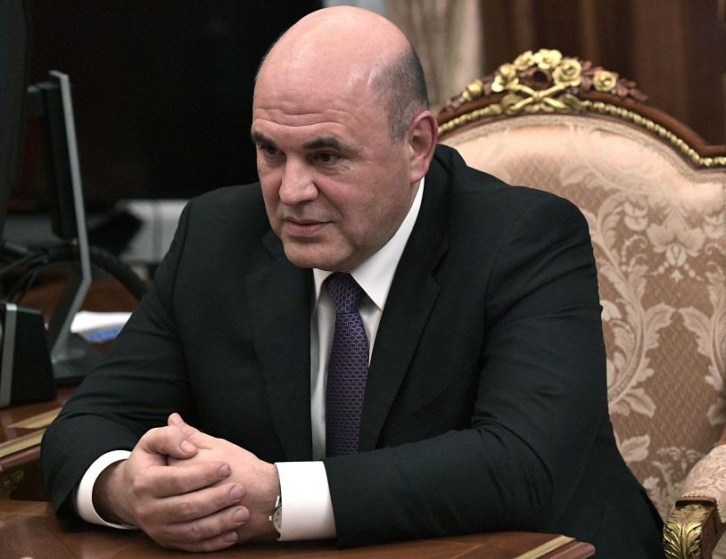 俄國聯邦稅務局局長Mikhail Mishustin。(Getty Images)