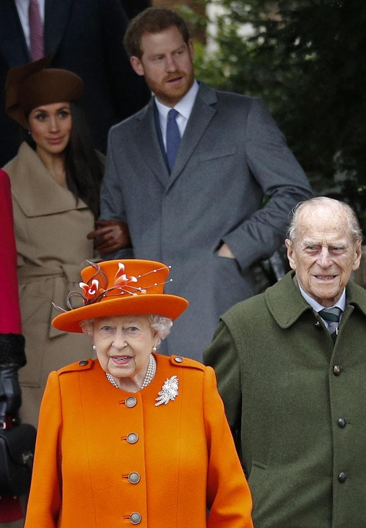 女王发声:支持哈利梅根开始新生活 暂允英加两边住