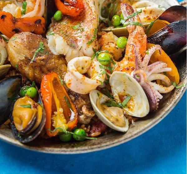 紐約餐館周,美食一把抓。Blue Fin也是推薦餐廳之一。圖/截自Blue Fin官網