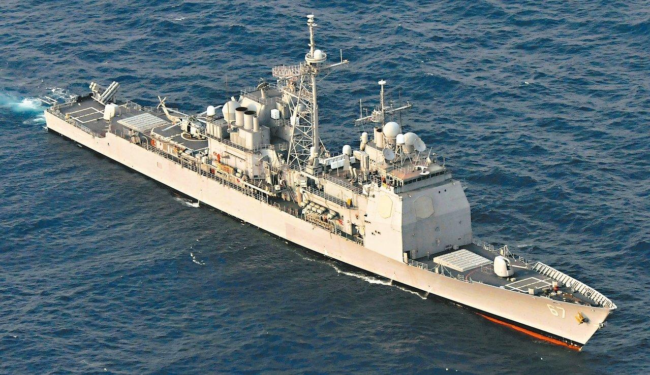 美國軍艦希洛號。 (美聯社)