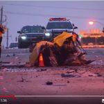 3華裔青少年飆車慘死  連撞兩樹 車斷兩截 爆炸起火