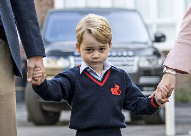 英國小王子喬治。(Getty Images)