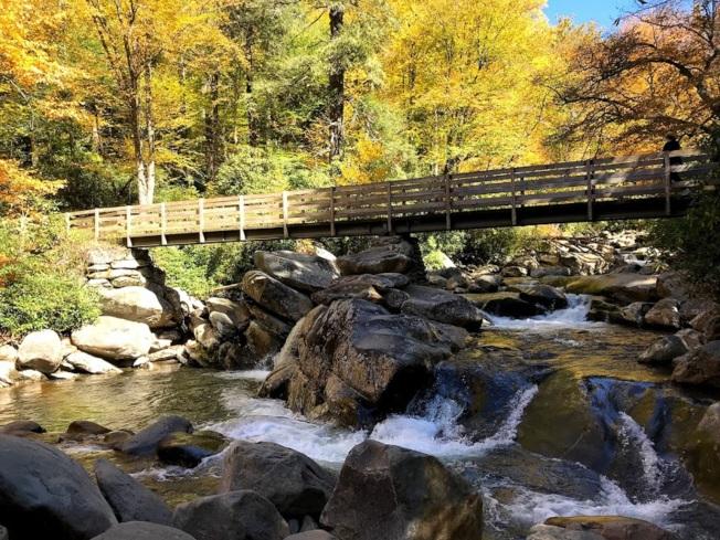 煙囪頂的小橋流水。