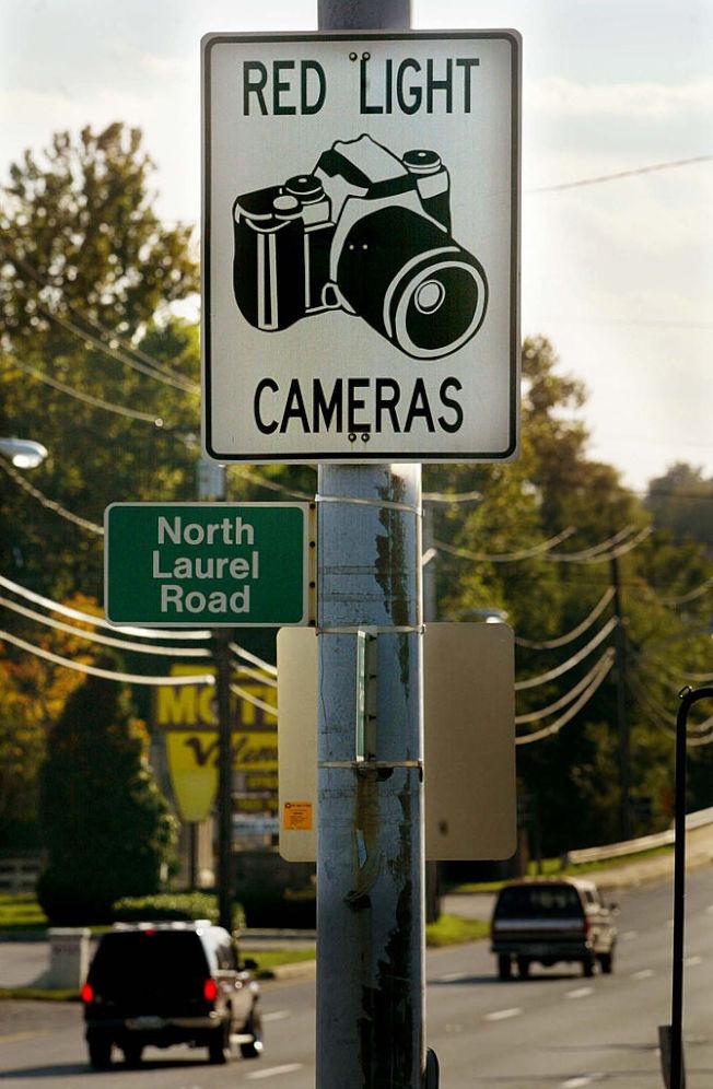 交通違規偵測照相機。 (Getty Images)
