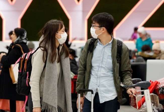 因美國政府頒布訪中旅客入境禁令,眾多持學生、工作簽證者難以回美。(Getty Images)