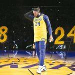 NBA/湖人主場悼布萊恩特 詹姆斯頻拭淚:傳奇永存