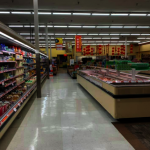 武漢肺炎恐慌 部分華人超市冷清