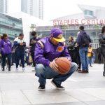 NBA/天使之城的愛 球迷千顆籃球悼念Kobe