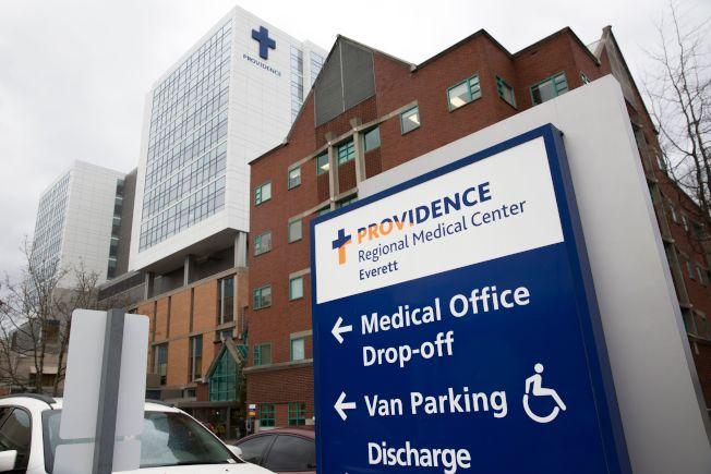 美國確診第一個武漢肺炎病例經過住院治療,目前已經出院。他感謝華盛頓州西雅圖的普羅維登斯地區醫療中心。(Getty Images)