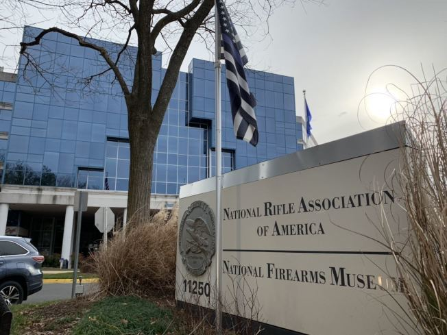 全國槍枝協會總部目前位於維州費郡,隨著維州控槍法案進一步推進,西維州參議員邀請該協會總部搬家。(記者張筠 / 攝影)