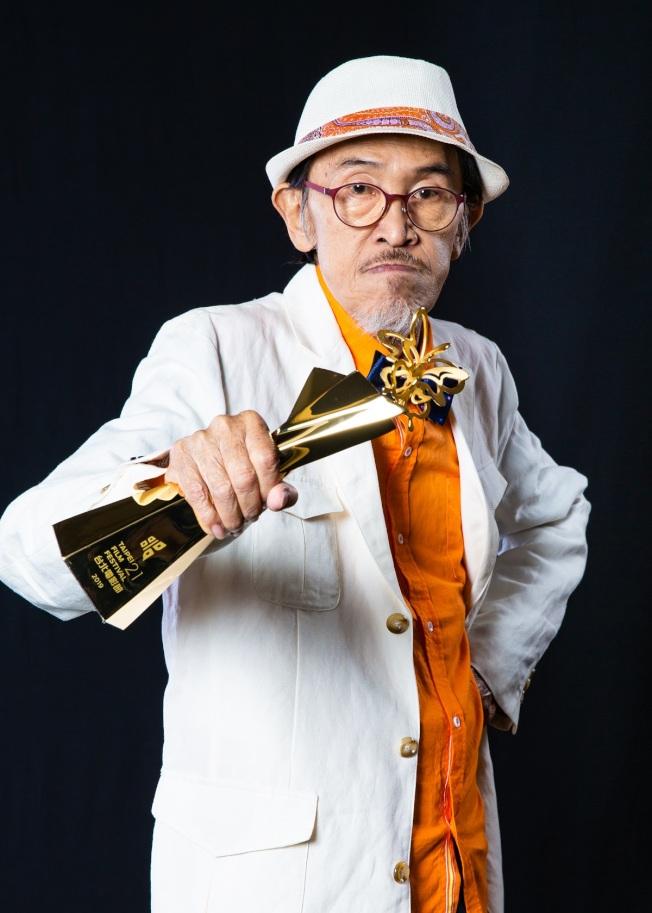 小戽斗去年才以「老大人」拿到台北電影獎最佳男主角獎。(圖:台北電影節提供)