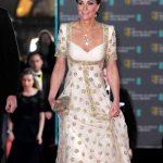 凱特王妃出席英國電影學院獎 四葉草珠寶貴氣不失親民