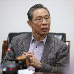鍾南山:新冠病毒不會像流感經常爆發