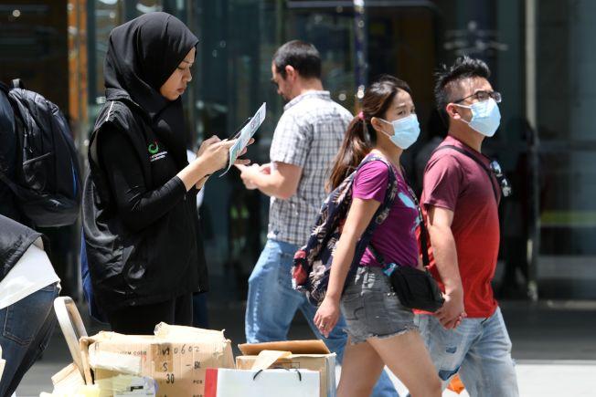 一名新加坡籍61歲男子日前因出現新冠肺炎(COVID-19,俗稱武漢肺炎)症狀住進印尼巴淡島的醫院,2天後病逝。圖為新加坡街頭。(Getty Images)