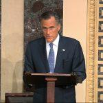 參議員第1人! 羅穆尼投票彈劾同黨總統:我聽從自己良心