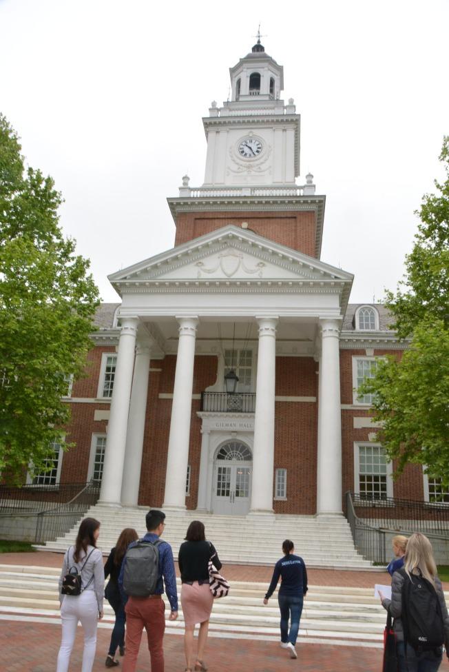 有較多華裔生的約翰霍普金斯大學,暫停學生赴華留學及關閉南京中心。(記者丁曙/攝影)