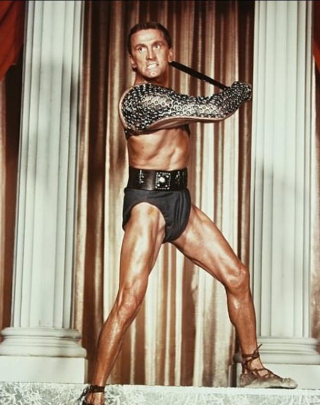 寇克道格拉斯1960年在「萬夫莫敵」的造型。(Getty Images)