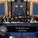 參院彈劾表決 宣告川普無罪 同黨羅穆尼倒戈 川普推文砲轟