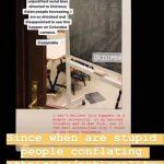 哥大圖書館黑板出現「反中」文字 校方:會調查處理