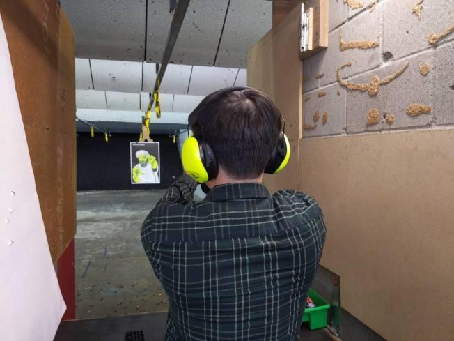 不論是當地人或外國人都能租槍打靶,來一場不同的「德式」體驗。(記者蕭永群/攝影)