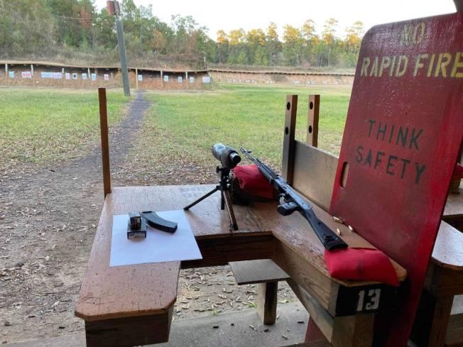 戶外靶場Carters Country也別具特色。(民眾徐先生提供)