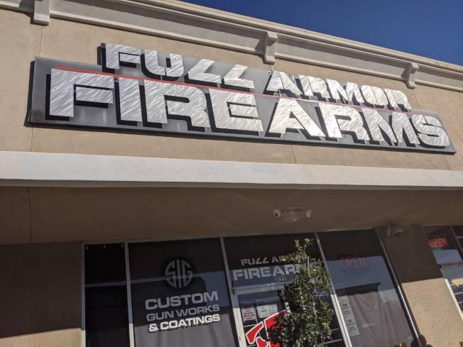 Full Armor Gun Range是不少休士頓民眾的打靶好去處。(記者蕭永群/攝影)
