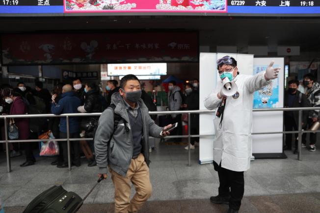 中國春運至今發送旅客1.9億人次,比去年同期下降七成。(本報資料照片)