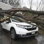 強風暴轉襲美東北 停電、洪患危機四伏