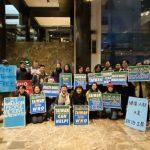 台灣人中央車站示威 抗議WHO拒接納