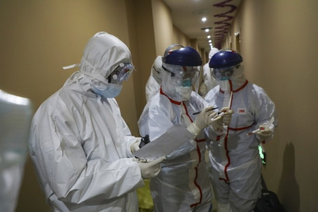 武漢肺炎新增2656例,總計確診逾3.7萬,死亡逾800例。美聯社