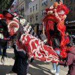 超級星期六 醒獅隊遊華埠 熱鬧賀歲趕疫情