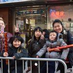新冠肺炎影響 華埠新春大遊行圍觀人潮減少