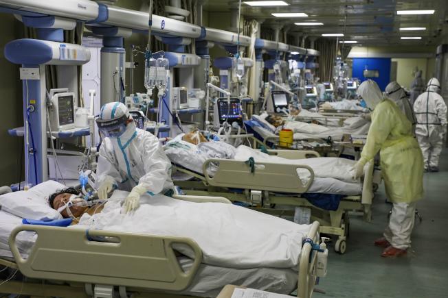 新型冠狀病毒已在全球造成逾4萬人感染,超過一千人死亡。 美聯社