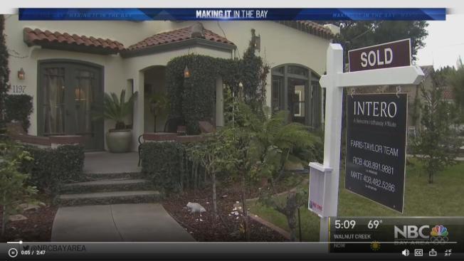 房地產網站Zillow表示,千禧世代為購屋做出的犧牲比老一輩多。(電視新聞截圖)