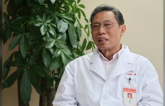 中國的權威病毒類肺炎專家鍾南山11日接受路透專訪,談及疫情、李文亮、政府動作。(路透)